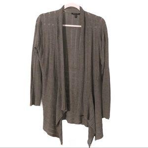 Eileen Fisher Lightweight Open Cardigan Sweater M